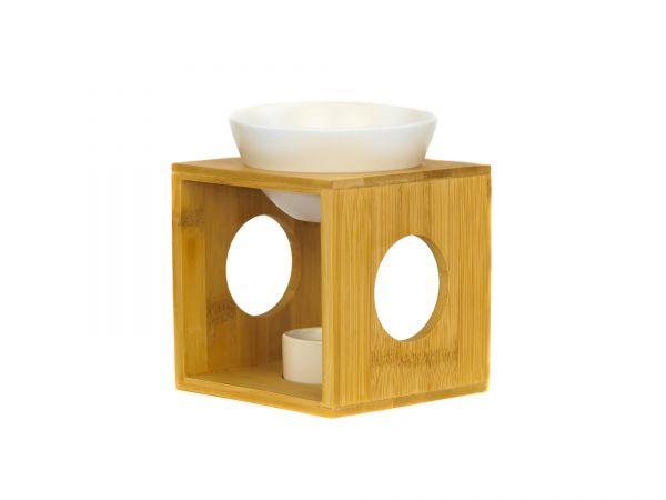 Duftlampe, Bambus-Keramik