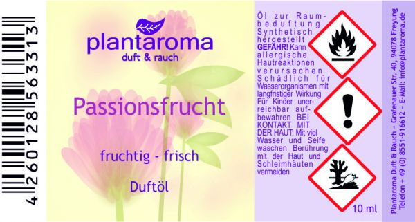 Passionsfrucht, Duftöl