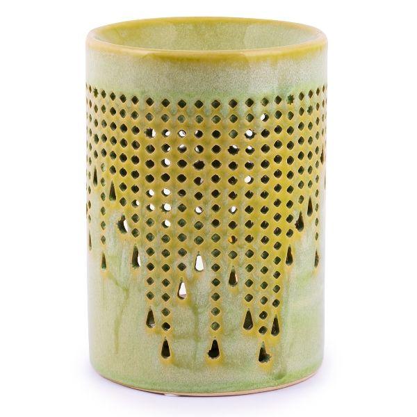 Elise, Duftlampe - Keramik, grün