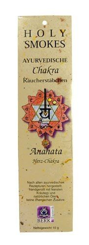 Holy Smokes, Chakra Line, Anahata, Herzchakra