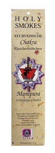 Holy Smokes, Chakra Line, Manipura, Solarplexus-Chakra
