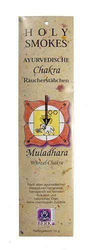 Holy Smokes, Chakra Line, Muladhara, Wurzelchakra