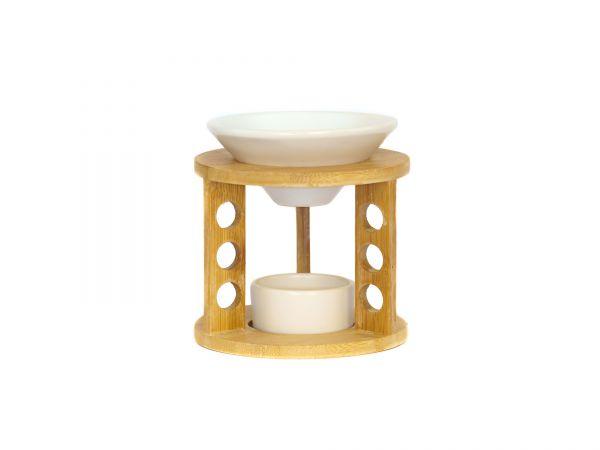 Duftlampe Bamboo, Bambus-Keramik