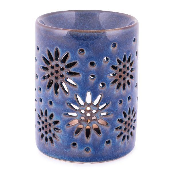 Eleisa, Duftlampe - Keramik, blau