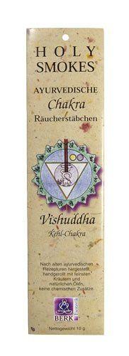 Holy Smokes, Chakra Line, Vishuddha, Kehlchakra