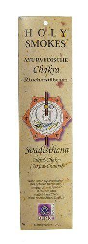 Holy Smokes, Chakra Line, Svadisthana, Sakral-Chakra